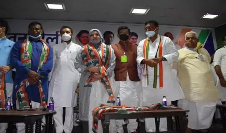 मुनव्वर राणा की बेटी फौजिया कांग्रेस में शामिल: #Bihar चुनाव में मिलेगा टिकट!