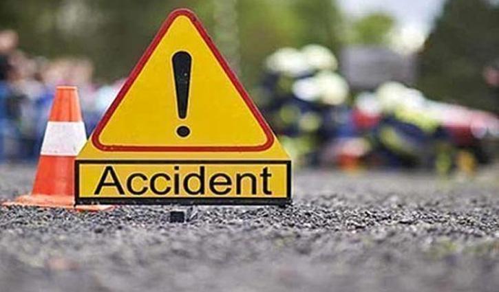 #Road_Accident: बारातियों से भरा मिनी ट्रक हाईवे पर पलटा: 5 लोगों की मौत, 22 घायल