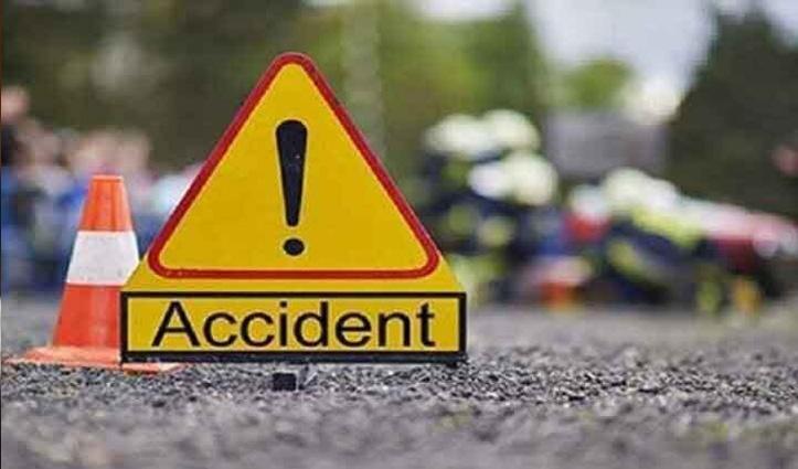 ट्रैक्टर-ट्राली से टकराई #Himachal में तैनात NTPC के इंजीनियर की कार; हुई मौत