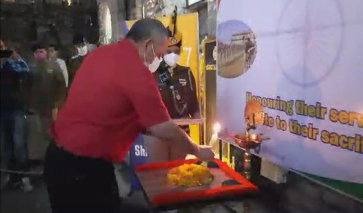 प्रदेश भर में मनाया गया 'पुलिस स्मृति दिवस': शिमला में DGP समेत आम जनता ने शहीदों को दी श्रद्धांजलि