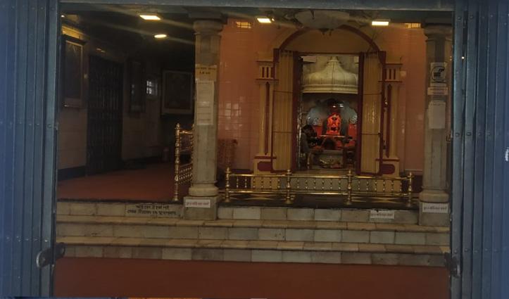 कोरोना काल में टूट गई परंपरा, इस बार Kalibari Temple Shimla में स्थापित नहीं होगी मूर्तियां