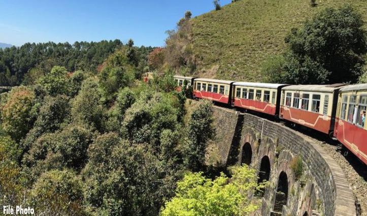 7 माह बाद शिमला-कालका ट्रैक पर चली Special Train. नहीं मिली कोई भी सवारी
