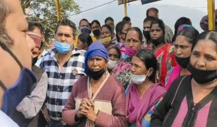 #Solan: फड़ी वालों ने पहले बसाने फिर उठाने की रखी मांग, खाली हाथ लौटी टीम