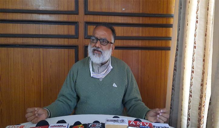 Himachal में तीसरा मोर्चा तैयार, सुशांत दशहरे के दिन शिमला से करेंगे घोषणा