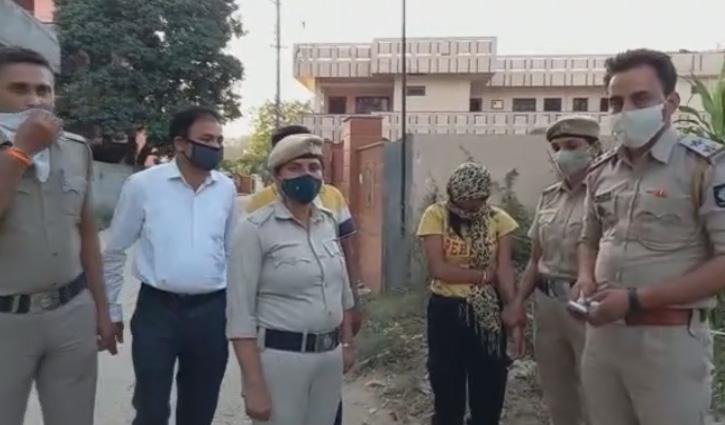#Una में 5.25 ग्राम हेरोइन के साथ युवती धरी, पुलिस ने स्कूटी भी कब्जे में ली