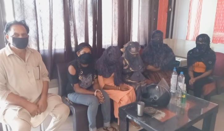 #Himachal:  देह व्यापार का पर्दाफाश, 5 लड़कियां बरामद, होटल संचालक Arrest