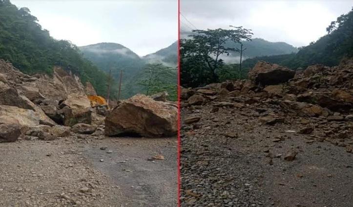 यमुनोत्री पैदल मार्ग दूसरे दिन भी बंद, Gangotri Highway पर नदी में गिरा डंपर, एक की मौत