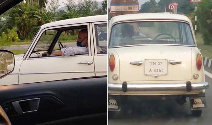 #Viral_Video : बिना ड्राइवर के सड़क पर दौड़ती रही Car, देखने वालों के उड़े होश