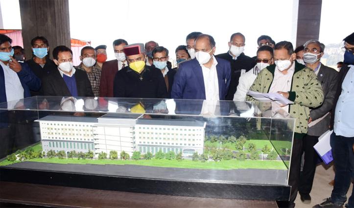 सीएम जयराम ने दिए निर्देश – Multispeciality Hospital चमियाना को जून 2021 तक करें पूरा