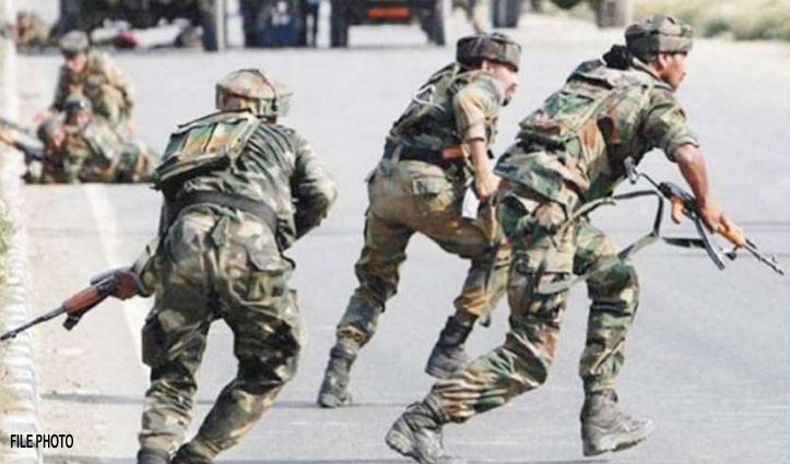 श्रीनगर : #Mumbai_Attack की बरसी पर सुरक्षाबलों पर #Terrorists_Attack, दो जवान शहीद