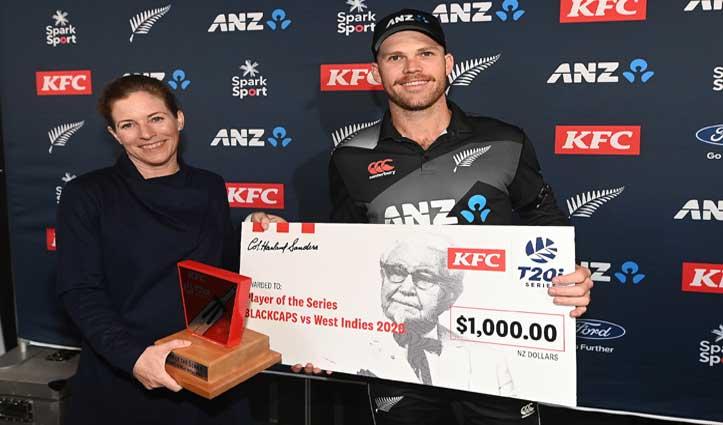 NZvsWI:बारिश ने धो दिया तीसरा #T-20,न्यूजीलैंड ने किया वेस्टइंडीज का सूपड़ा साफ
