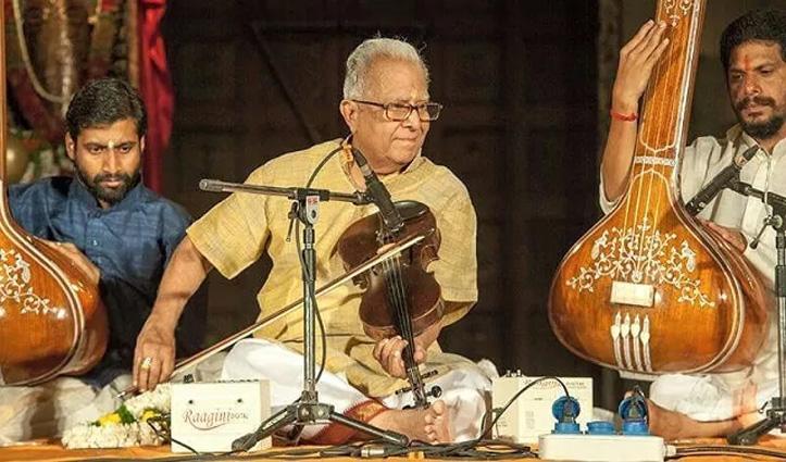 वायलिन वादक टी.एन. कृष्णन का 92-वर्ष की आयु में निधन, राष्ट्रपति व PM ने जताया शोक