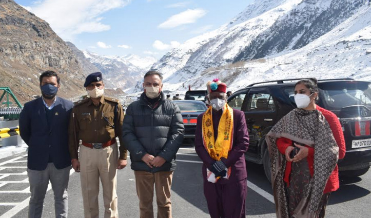 Atal Tunnel will prove to be helpful in taking tourism to new heights: Bandaru Dattatraya