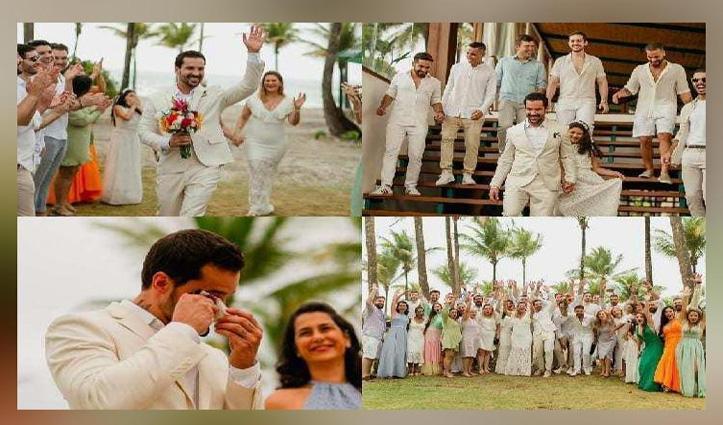 मंगेतर ने किया #Breakup तो डॉक्टर ने अपने आप से की शादी, देखें तस्वीरें