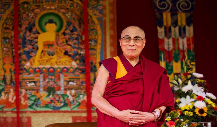 दिवाली की चमक से दूर रहेंगे #Dalailama ,30 तक पैलेस में ही रहेंगे बंद