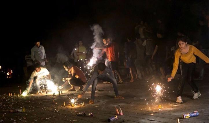 दिवाली से पहले चंडीगढ़ के बाद #Haryana में भी लगाया गया पटाखों पर बैन