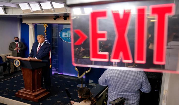 निर्णायक मोड़ पर पहुंचा #US_Election: जहां आगे थे Trump वहां भी पिछड़े; हार तय