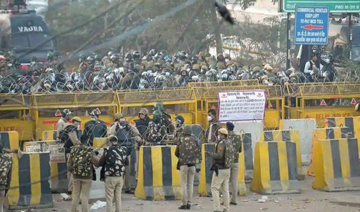 #Farmer's_Protest Live : किसानों को #Delhi आने की इजाजत मिली, सिंधु बॉर्डर से साथ चलेगी पुलिस