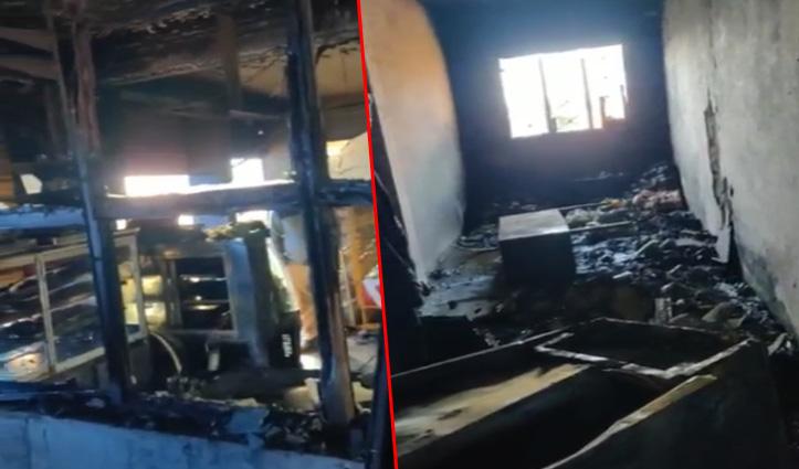 Sirmaur: नैनाटिक्कर में ढाबे में लगी आग, फ्रीजर, फर्नीचर सहित अन्य सामान जला