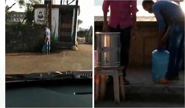 'गोल गप्पे' के लिए टॉयलेट का पानी इस्तेमाल करता दिखा दुकानदार, #Viral हुईं तस्वीरें