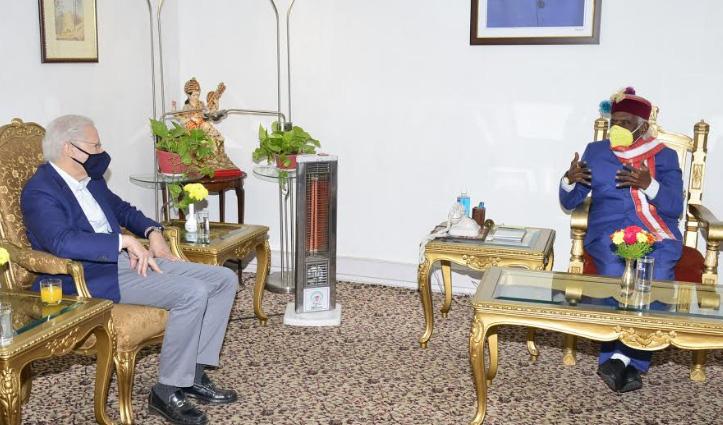 राज्यपाल बंडारू दत्तात्रेय और अमेरिकी राजदूत में #Himachal के इन मुद्दों पर हुई चर्चा