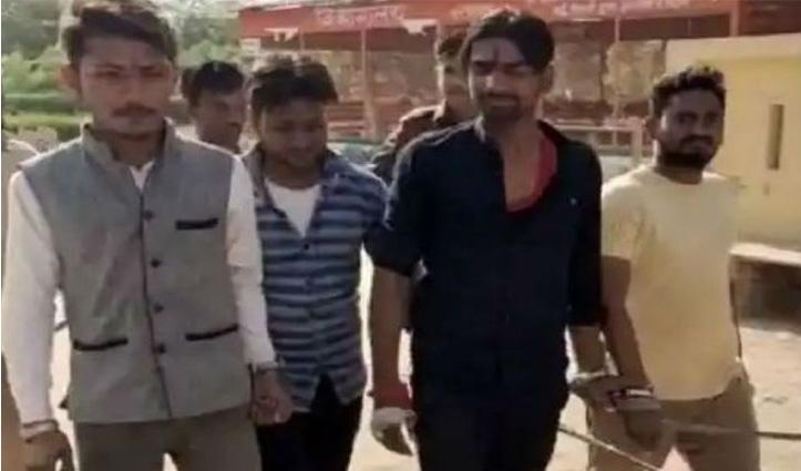 मंदिर में नमाज के बाद मस्जिद में चार हिन्दू युवकों ने पढ़ी हनुमान चालीसा, पुलिस ने भेजा जेल