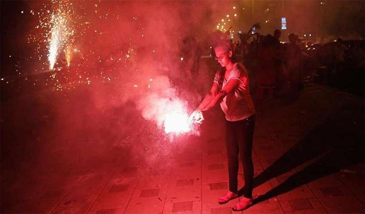 हरियाणा में बदले नियम: #Diwali पर दो घंटे तो क्रिसमस पर 35 मिनट के लिए आतिशबाजी को छूट