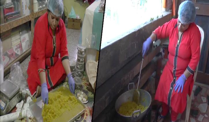 आत्मनिर्भर भारत की ओर कदमः यहां पर बनती है बिना घी और तेल के बनी मिठाइयां