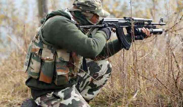 #J&K में घुसपैठ की कोशिश नाकाम, सैन्य अफसर सहित 4 Jawan शहीद, 3 आतंकी ढेर