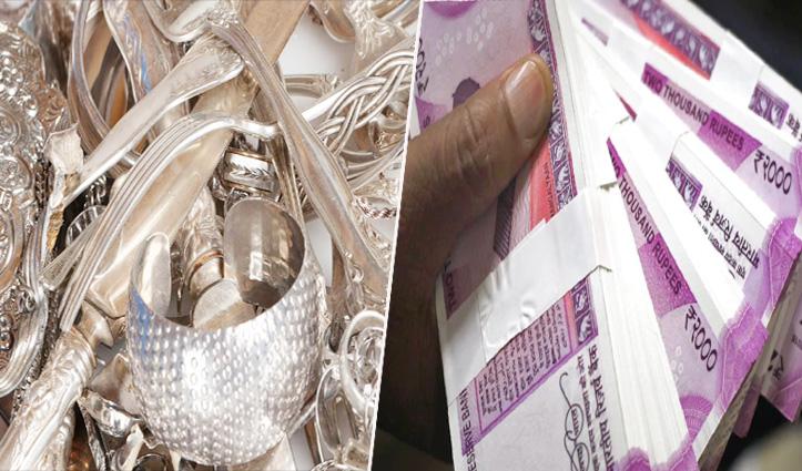 #Himachal में शोघी बैरियर पर 7 किलो चांदी व कैश के साथ पकड़ा Punjab का कारोबारी