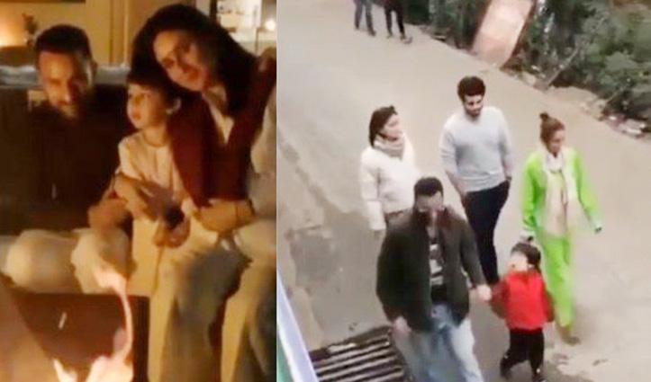 Video : सैफ-करीना ने Dharamshala में मनाई #Diwali, मैक्लोडगंज की गलियों में घूमते दिखे मलाइका-अर्जुन