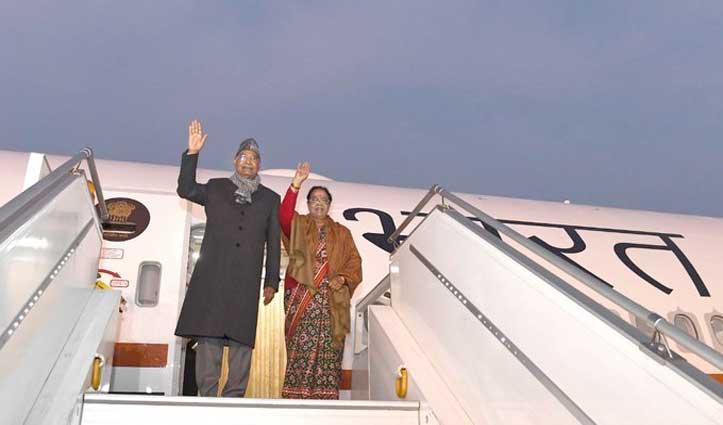 #AirIndiaOne की पहली उड़ान के साथ #President_Kovind चेन्नई रवाना, तिरुपति में करेंगे पूजा-अर्चना