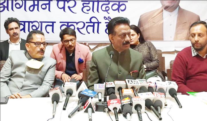 राठौर की चेतावनी- काम ना करने वाले पदाधिकारी होंगे आउट, हाईकमान को भेजी जाएगी रिपोर्ट