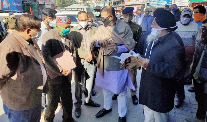 सिख दंगों के पीड़ित मामले की जांच के लिए अल्पसंख्यक आयोग के उपाध्यक्ष पहुंचे ढालपुर मार्केट