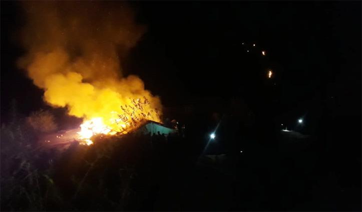 #Diwali की रात Kullu में जले घर, होटल व शैड, लाखों की संपत्ति हुई स्वाहा