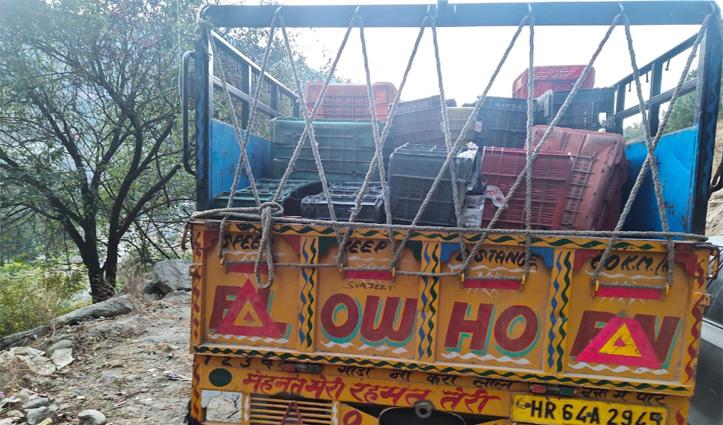 Himachal में बेचने लाए थे हरियाणा मार्का की शराब, पिकअप चालक सहित दो गिरफ्तार