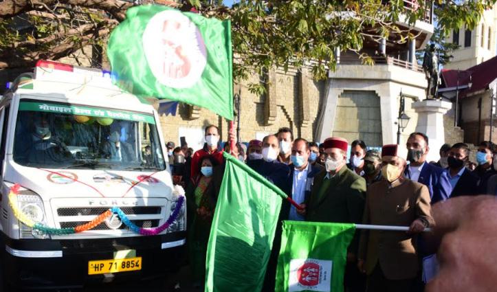 जयराम ने #Medical Mobile Unit 'जीवन धारा' को किया रवाना, #PHC के रूप में करेंगी कार्य