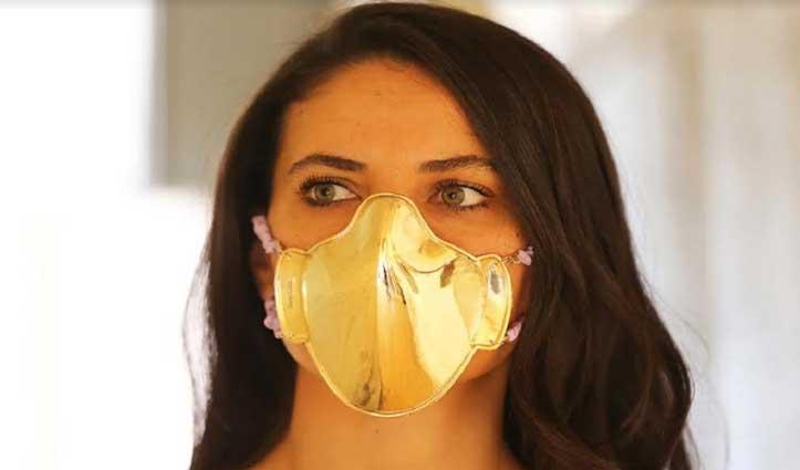 #Corona की वजह से हुआ बेरोजगार, अब सोने-चांदी के #Mask बनाकर हो रहा मालामाल