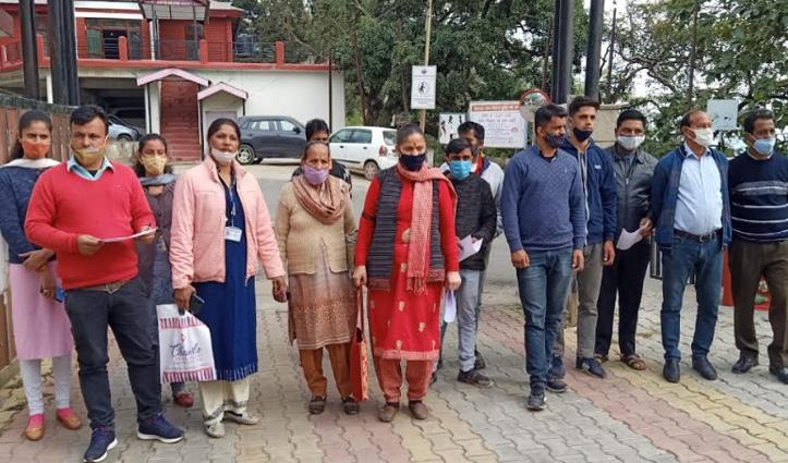 #Sirmaur विनीता मर्डर केसः Fast Track Court में चले मामला, लोगों ने उठाई मांग