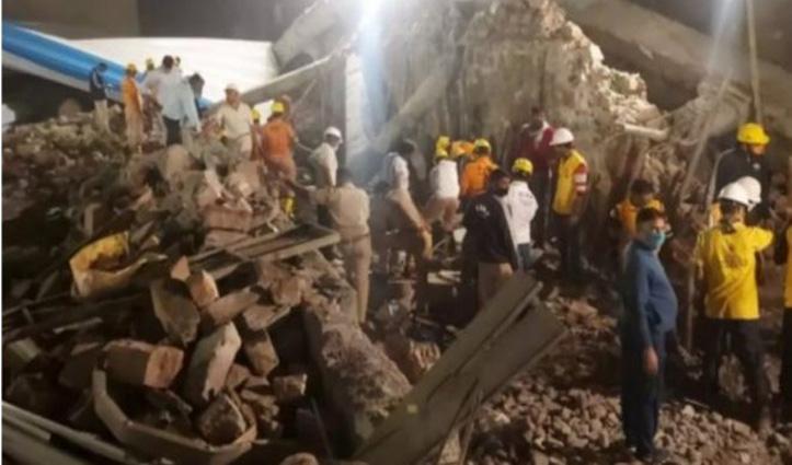 #Rajasthan: निर्माणाधीन इमारत की छत गिरने से 8 मज़दूरों की मौत, 6 घायल