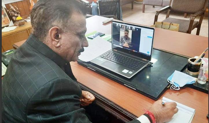 Rajiv Shukla ने की वर्चुअल बैठक, बोले: पंचायत चुनाव परिणाम से मिलेगी #Congress को मजबूती