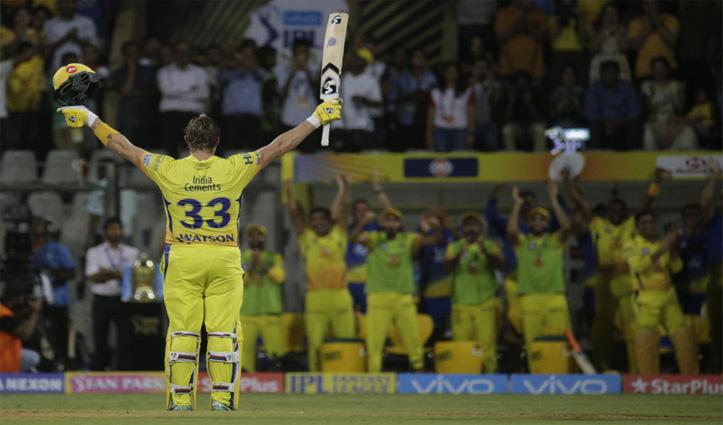 #CSK के शेन वॉटसन ने क्रिकेट के सभी प्रारूपों से लिया रिटायरमेंट, शेयर किया वीडियो