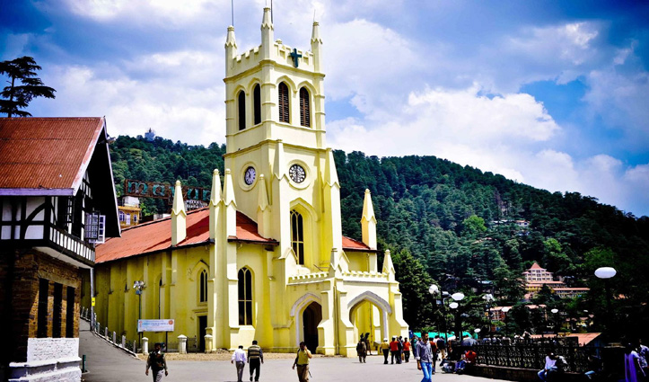 Shimla में इस बार रिज पर #Social_Distancing से करना होगा चांद का दीदार