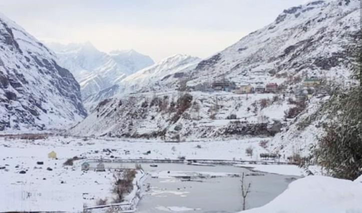 हिमाचल के पहाड़ #Snowfall से हुए सराबोर, निचले इलाकों में झमाझम बरसे मेघ