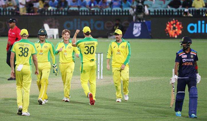 #AUSvIND:टीम इंडिया को 51 रनों से फिर मिली हार, #Australia ने किया सीरीज पर कब्जा