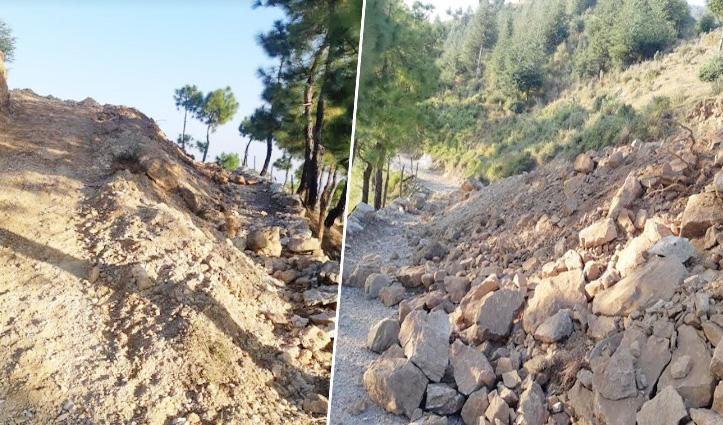 मंडी: गेहरू वन विभाग बीट में अवैध खनन कर बना डाली सड़क, सरकारी धन का भी दुरुपयोग
