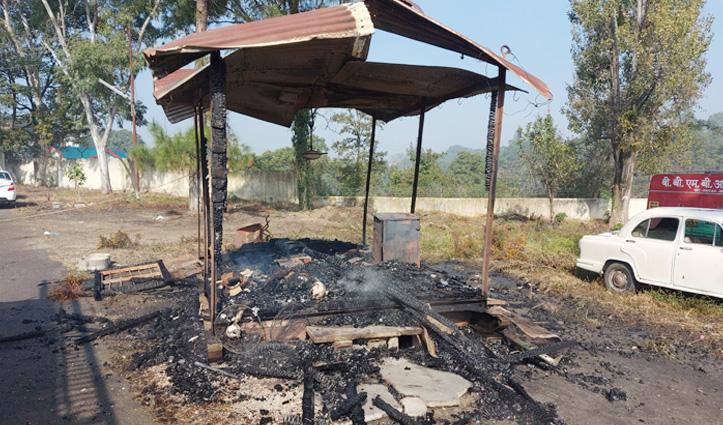 सुंदरनगर में #BBMB Workshop में जिंदा जला ड्यूटी पर तैनात चौकीदार