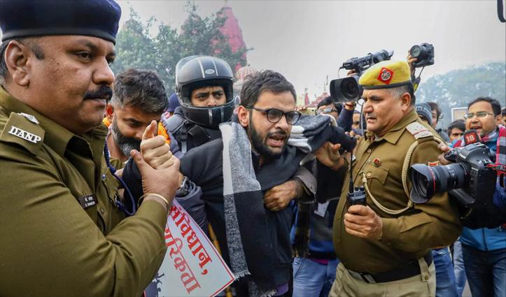उमर खालिद पर #UAPA के तहत केस चलाने की दिल्ली सरकार ने दी मंज़ूरी