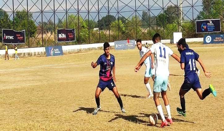 #Himachal_Football_League: टेक्ट्रो स्वाड्स यूनाईटेड ने शाहपुर क्लब पर दर्ज की शानदार जीत