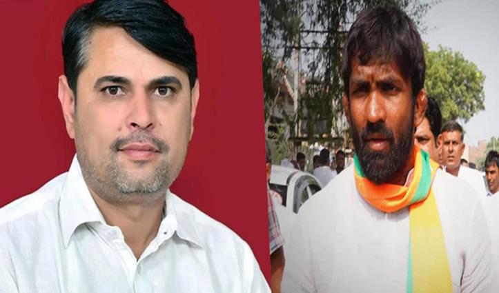 हरियाणा उपचुनाव: चुनावी मैदान में कांग्रेस के इंदुराज को पटखनी नहीं दे पाए BJP के योगेश्वर दत्त